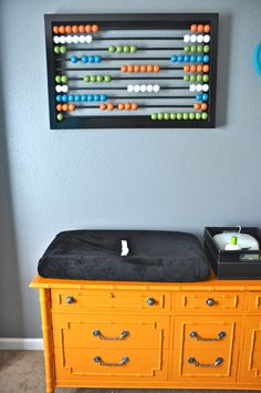 Great DIY Abacus for Nursery - #projectnursery