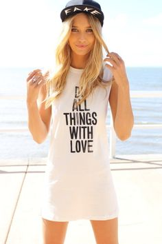 With Love Dress. Very casual <3