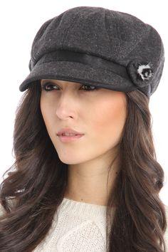 Violet Del Mar Jessica Hat In Gray - $9.99