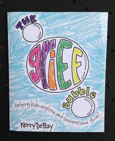 Grief Activity Books for Kids 3-9 - What's Your Grief