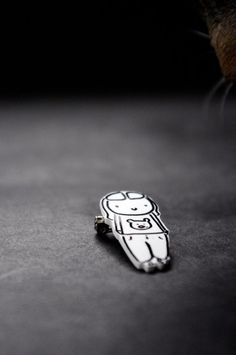 Shrink Plastic Brooch Pin Shrinky Dinks Leela by Cyclop on Etsy, $11.75