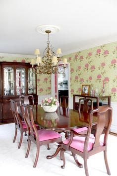 Dining Room - Spring Home Tour