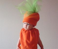 Kids Costume Halloween Costume Carrot Costume