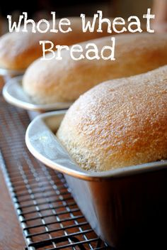 Whole Wheat Bread- large 3 loaf batch. Perfect for my large family :) #wholewheat #bread #whole grains