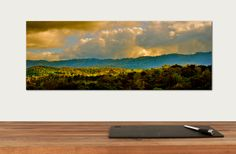 "Panoramic Canvas Print | Enter to win a free canvas print from CanvasPop simply by repinning from our ""CanvasPop Pin to Win Contest"" board 