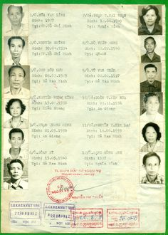 A 1989 Vietnam service group passport for several persons to Cambodia. Group passports are generally not issued today, so they are quite rare.