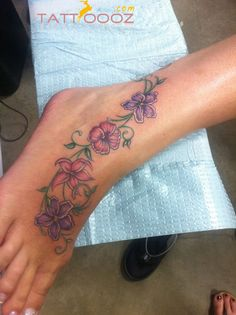 tattoo ideas foot, flower foot tattoo ideas, feet tattoos, foot tattoos for women, favorit tattoo