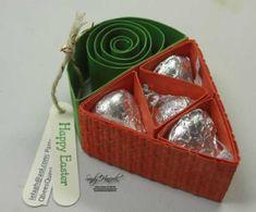 Carrot - candy kiss holder