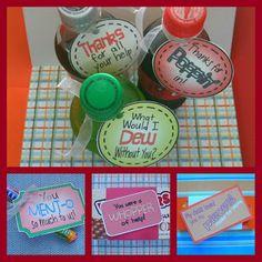 Classroom Freebies Too: Volunteer Gift Ideas