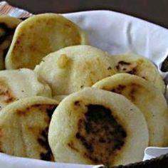 Receta Arepas de harina de trigo  Puerto Rico