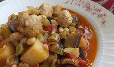Misket Köfteli Sebze Yemeği Tarifi / Marifetlitarifler'den yemek tarifleri