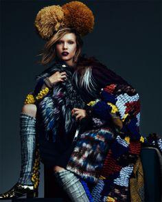Fashion Editorial, Pattern