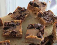 Almond Chocolate Freezer Fudge
