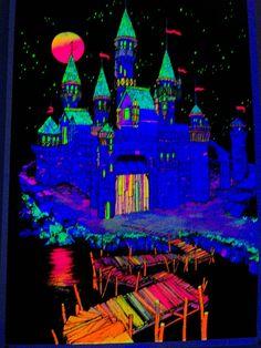 70s Black Light Posters | black light castle | Flickr - Photo Sharing!