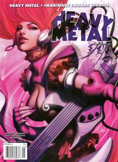 "Heavy Metal - Vol. 35 No. 6 September -  2011 - Stanley ""Artgerm"" Lau"