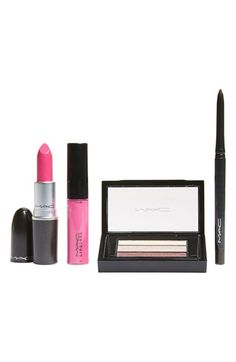 """MAC """"Look in a Box"""" - All About Pink Set #cosmetics #makeup #designer #beauty #pink"""