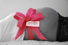 Maternity Photography Prop by ashleysbellybows on Etsy