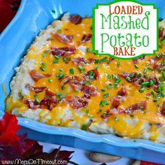 Loaded Mashed Potato Bake