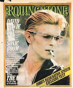 Rolling Stone, 1976 #bowie #rollingstone