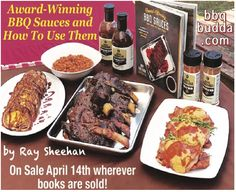 "Ray Sheehan, Author, shares how to get unforgettable BBQ with handmade sauces voted ""Best In The World"" Kick the flavor up a notch by making award winning sauces with wholesome ingredients in your backyard.  The book goes on sale wherever books or sold today, April 14, 2020."