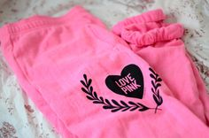 vs pink, victoria secrets, gir thing, victoria secret pink, style, vspink, pink pants, summer nights, sweatpants