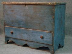 Another GORGEOUS antique chest!!!  ---18Th Century Blanket Chest