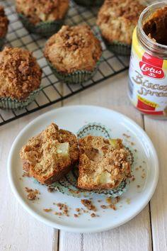 Biscoff Apple Muffins - Damn Delicious