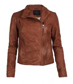 AllSaints Marsh Leather Biker Jacket
