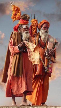 Sadhus in India