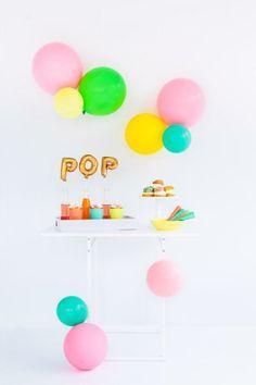 Cute idea! Baby shower dessert table.