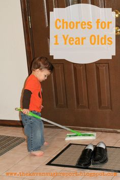 Chores for Toddlers -- her advice at the end emphasizes positivity and flexibility which I like.