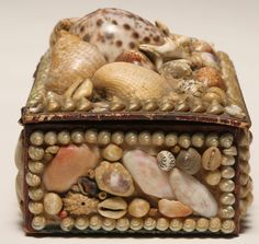 Seashell trinket box