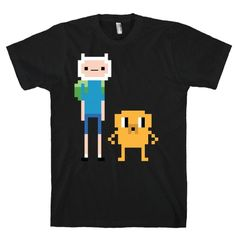 8 BIT FINN AND JAKE TEE - PREORDER