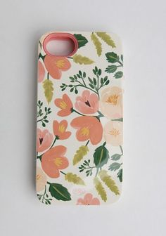 Botanical Rose Inlay IPhone 5 Case By Rifle Paper Co.