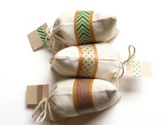 Set of 3 Handmade Organic Balsam Sachets christma gift, men gifts