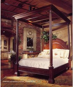 Canopy Bed - King