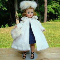 C1958 Cissette Doll Navy Taffeta Dress Coat 875 Madame Alexander