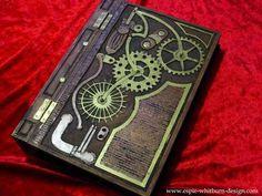 purs, journals, diari, diy crafts, steampunk book, carved wood, accessories, book design, craft ideas