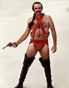 1974:  Sean Connery in Zardoz
