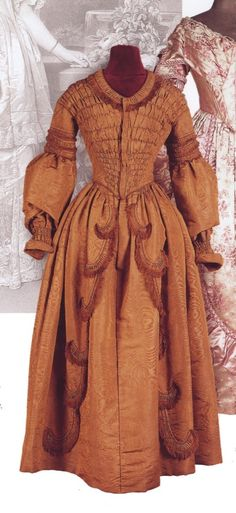 1840, gown