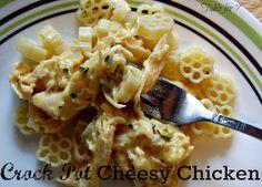 {Crock Pot} Cheesy Chicken