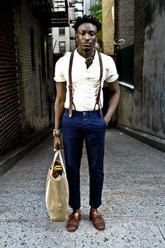 Those suspenders!!!