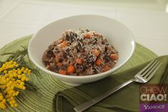 Easy RED WINE RISOTTO from @Fabio Viviani  for Mother's Day!  Text Recipe: http://yhoo.it/ZtaUfe