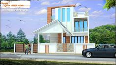 Modern Duplex House Plans Design in 223 Sq. mt.  Like, share, comment. click this link to view more details - http://www.apnaghar.co.in/search-results.aspx