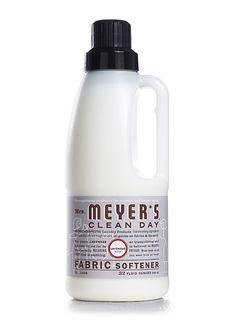 Lavender Fabric Softener from Mrs. Meyer's Clean Day.  #crueltyfree #noanimaltesting