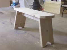 DIY Wooden bench (for top of stairs, under window)