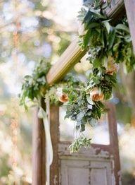 fresh flower garlands for weddings