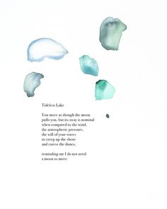 Tideless Lake // Artist Collaboration — LETTERS TO LAKE MICHIGAN