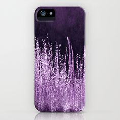 Mauve Grasses iPhone Case by Veronica Ventress - $35.00