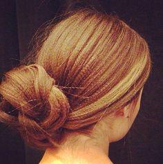 Textured Chignon Bun #Sephora #prom #promideas #hairstyles #TheBeautyBoard